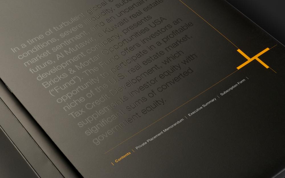 Communication Design - Bricks & Mortar Brand & Collateral