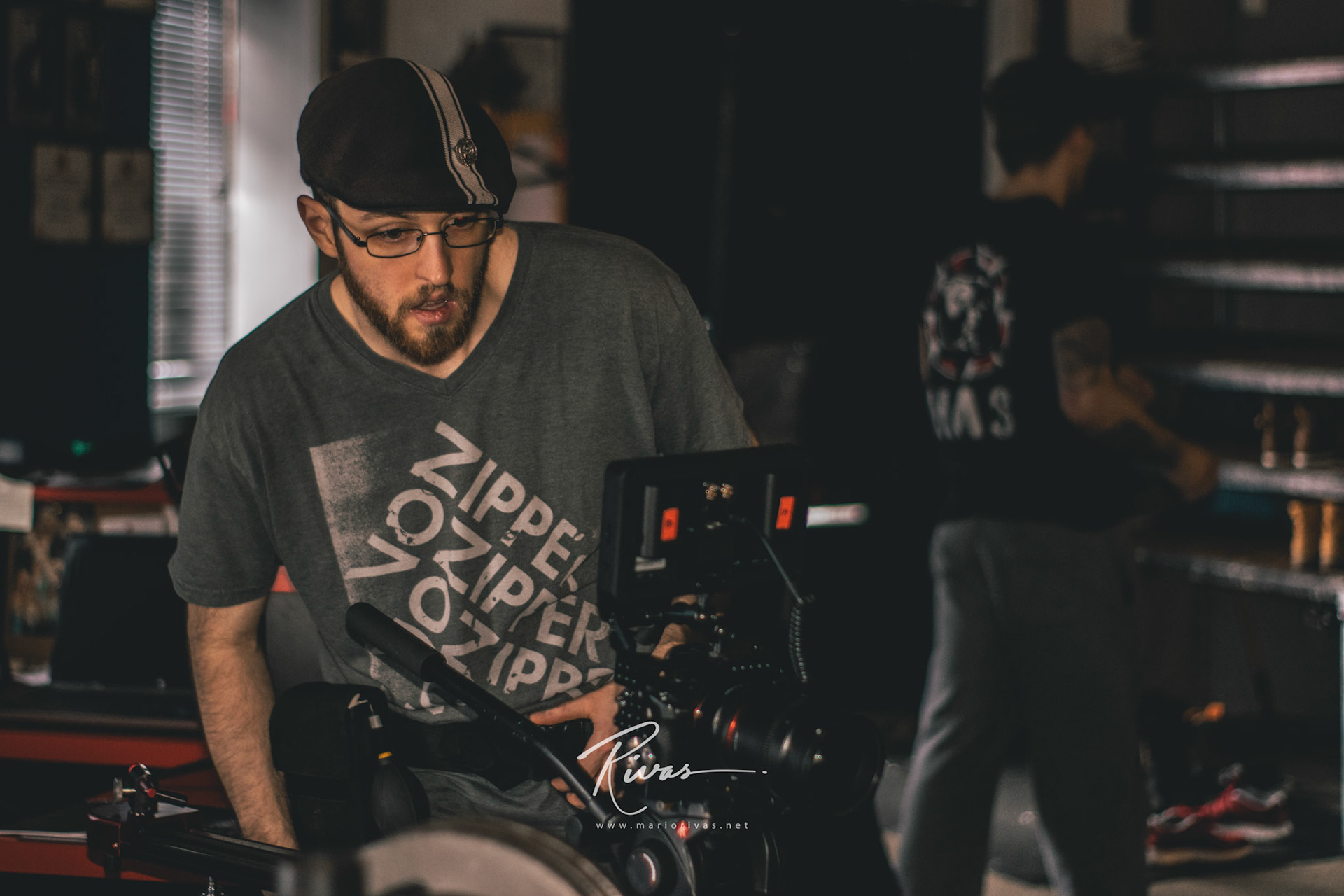 Mario Rivas - Fable Forest Film's Set Shoot