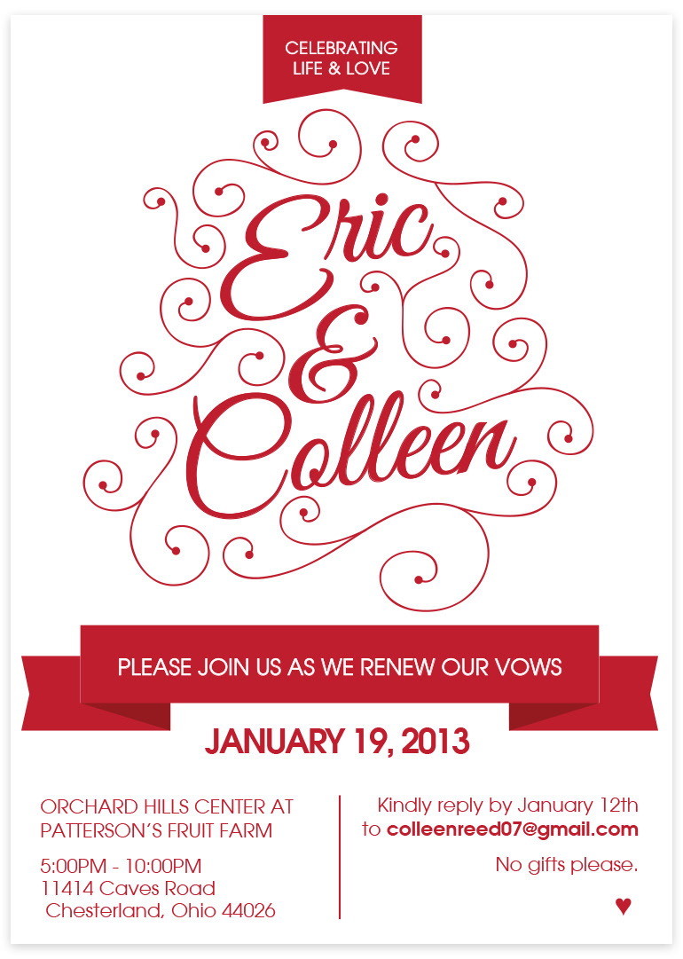 Emily Heinonen Design - Wedding Invitations