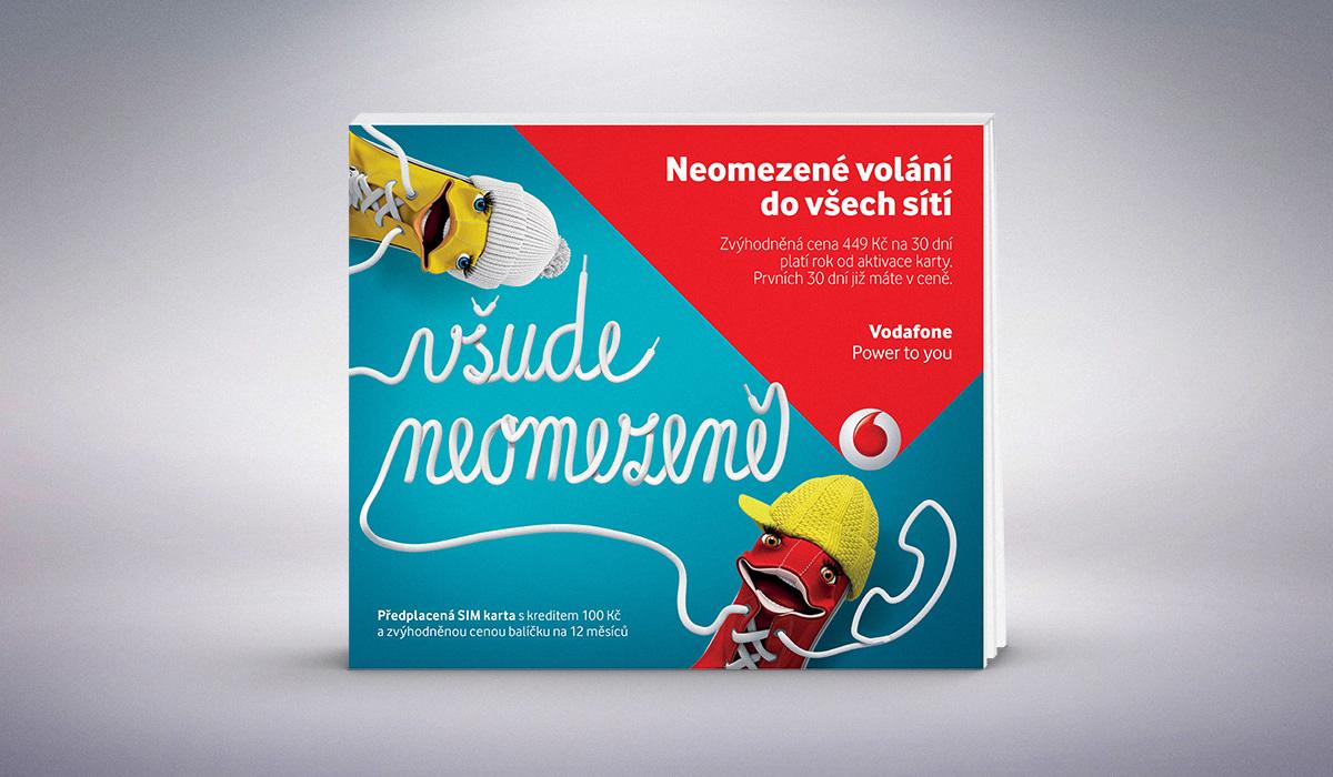 Petr Stupka Vodafone Sim Card Packaging