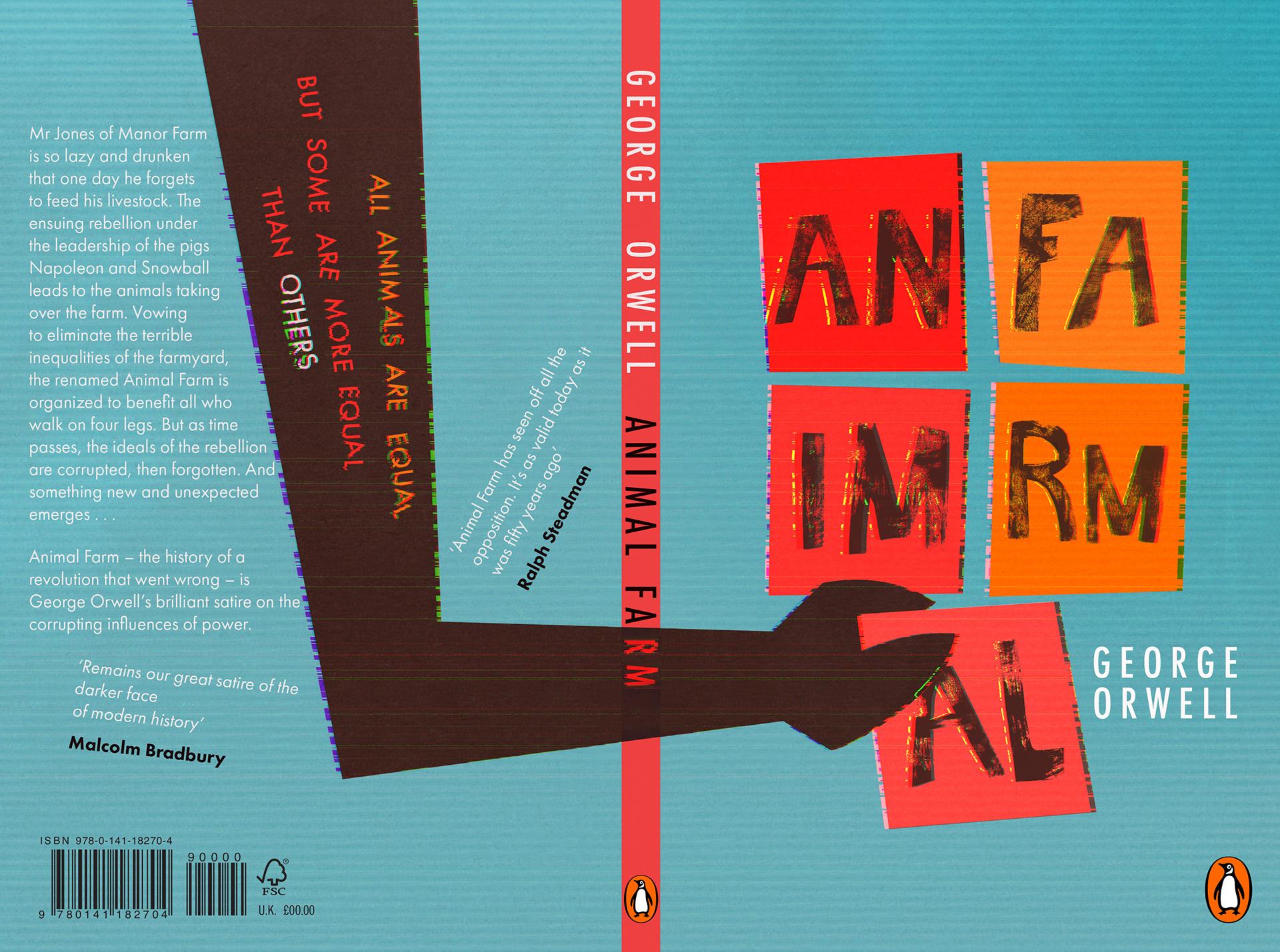 Elodie Imbert Animal Farm Book Cover