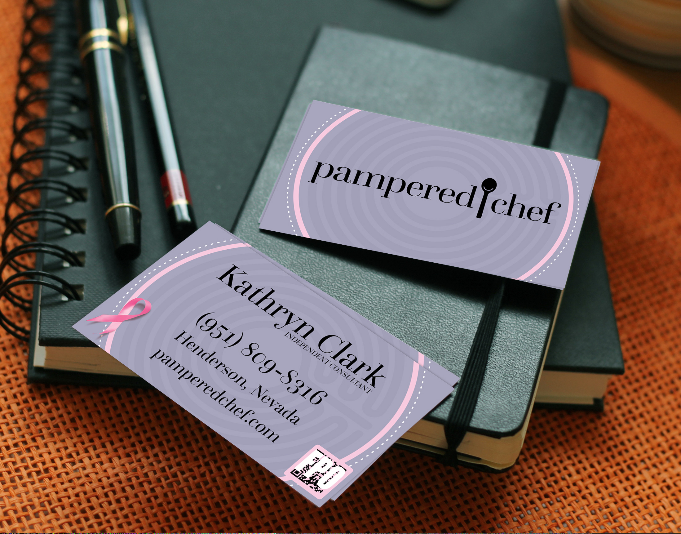 Rob samples projects pampered chef business cards colourmoves Images